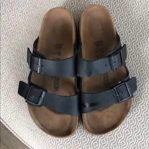 Birkenstock Shoes - Birkenstock Arizona Birko-Flor-blk-sz 36-US 5-5.5